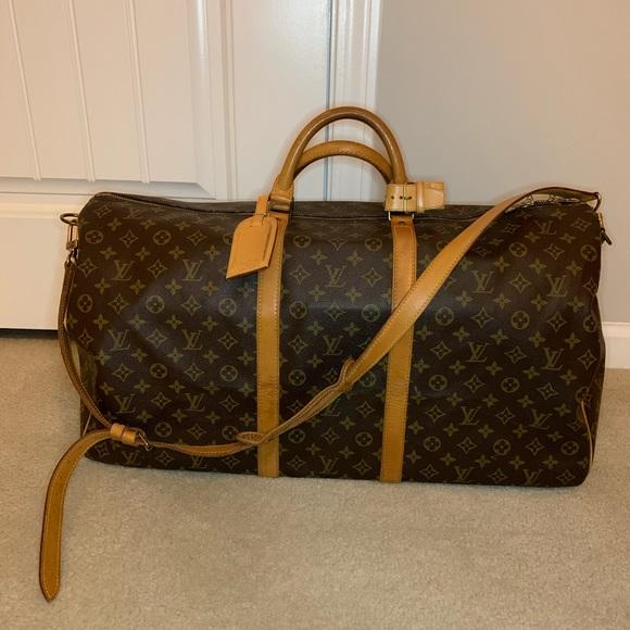 453de5c99f1 Louis Vuitton Keepall 60 Bandouliere Monogram
